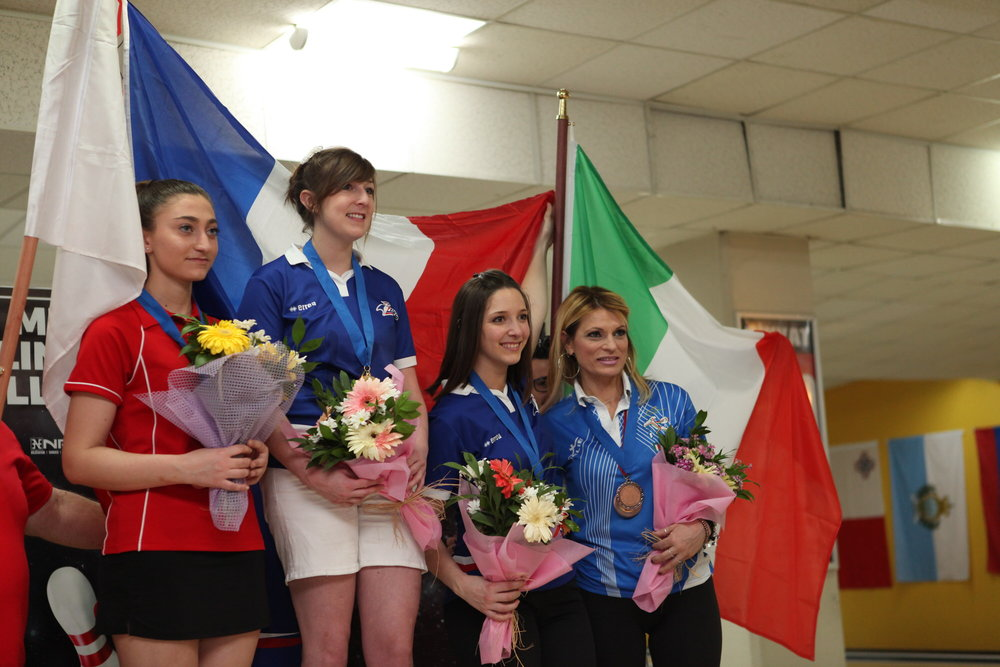 Silver for Sara Xuereb in the Masters Event