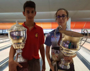 Michaela Briffa and Miguel Xuereb won this year Silver Cup Competition