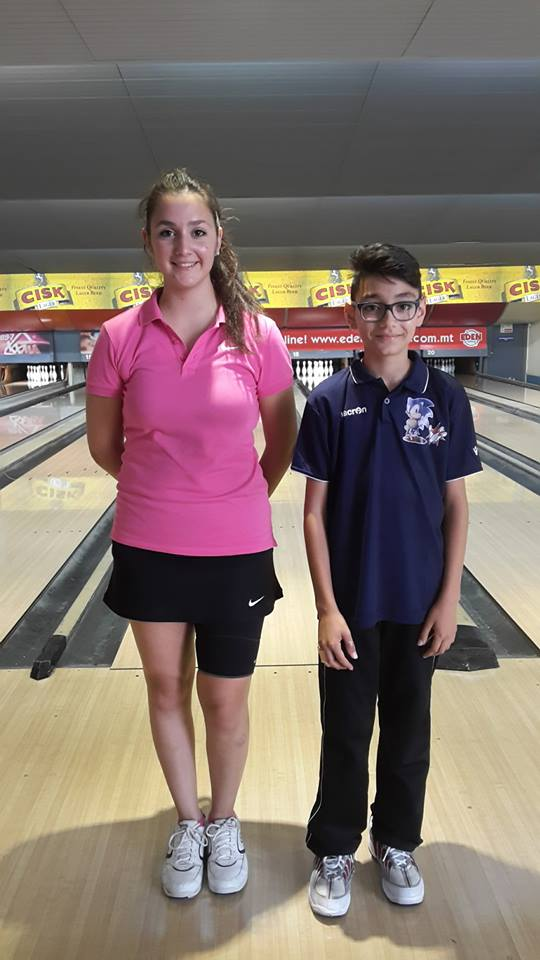 Alessia and Nicholas Silver Cup Champions